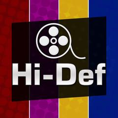 Hi-Def Colorful Halftone Background