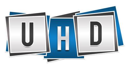 UHD Blue Grey Blocks