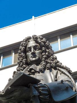 Leipzig Leibniz-Denkmal