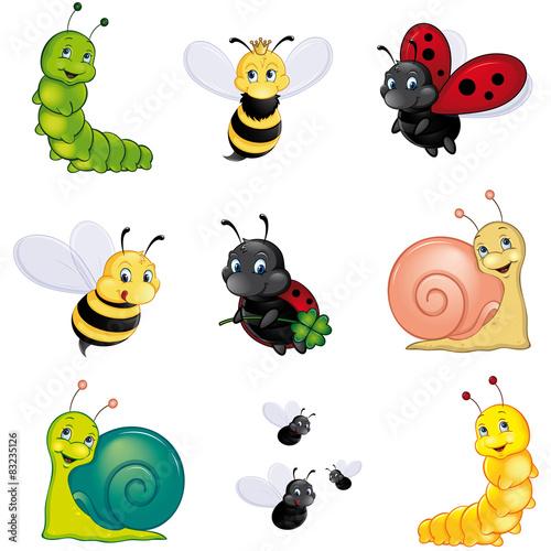 """""""buntes insekten set """" stockfotos und lizenzfreie vektoren"""