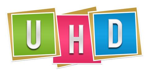 UHD Colorful Blocks