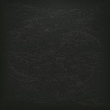 Leere Quadratische Schwarze Kreidetafel