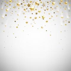 golden falling stars