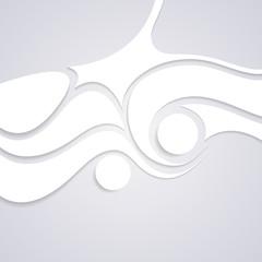 Wavy corporate swirl pattern design