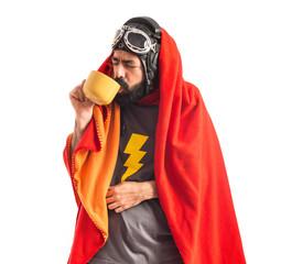 Superhero sick