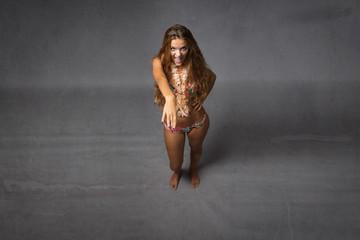 latino dancing for nice girl