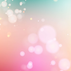 Vector blurry soft background