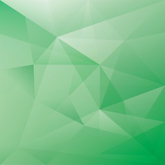 Green vector abstract background for design
