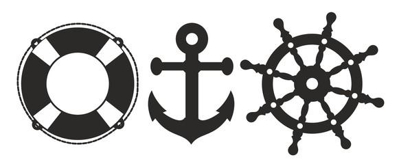 Ship signs.