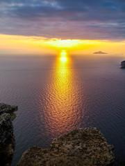 Coucher de soleil, Les Falaises de Cap Canaille, Cassis