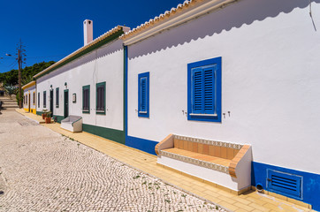 Typical Portugal architecture village