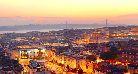Fototapete - Lisbon wallpaper