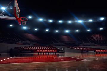 Basketball court.