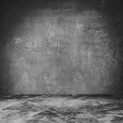 Empty cement room and concrete texture and background with space