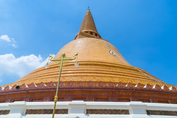 The First Grand Pagoda in Nakornpathom, Thailand