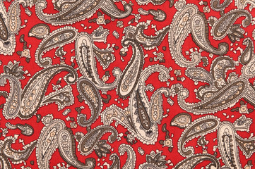 Background texture fabric floral pattern.