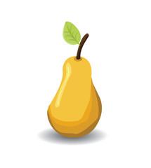 Fruit a ripe pear
