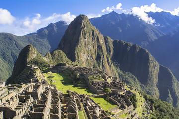 インカのマチュピチュ遺跡