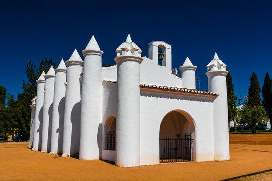 Small church in Beja, Portugal