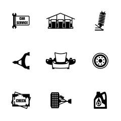 Vector Car sevice icon set