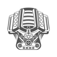 Vector Illustration of Motor Cars
