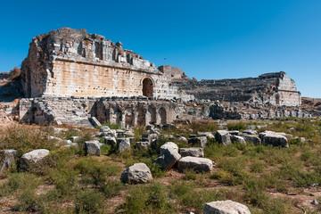 Miletus theater. Ancient Greece