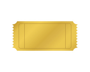 Blank VIP/ Golden Ticket