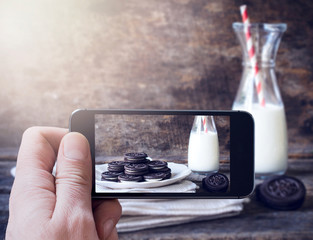 Cookies photographing