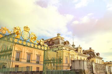 Drottningholms castle in Stockholm - Sweden