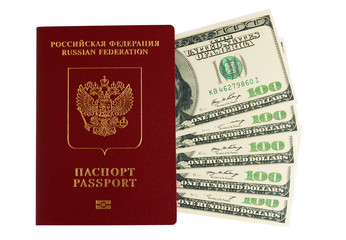Passport of the Russian Federation has nested in dollars
