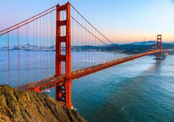 Photo sur Toile San Francisco Golden Gate, San Francisco, California, USA.