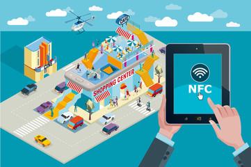 Mobile Payment NFC Horizontal