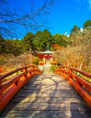 Daigo-ji  temple, Kyoto, Japan.