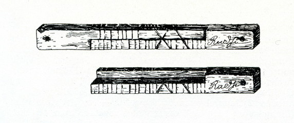 Split tally from Latvia (Rudzi-rye)