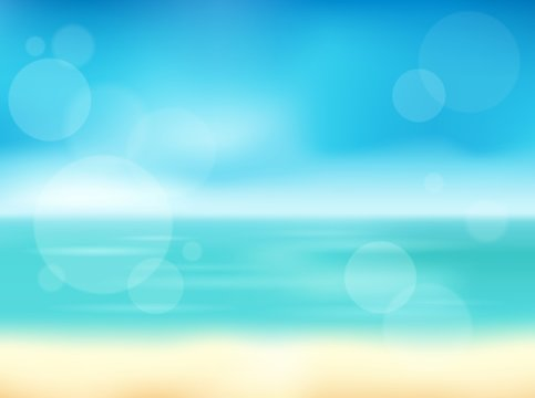 Summer theme abstract background 1