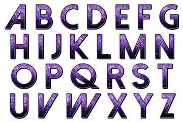 Glitter Burlesque Alphabet Collection
