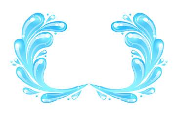 Illustration of Sea Waves