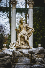 classical sources of water in the royal gardens of Aranjuez, Spa