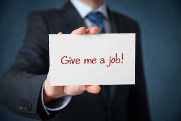 Give me a job