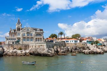 Cascais waterftont near Lisbon in Portugal