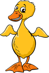 duckling cartoon illustration