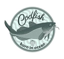codfish badge