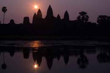 Kambodża, Angkor Wat, Sunrise