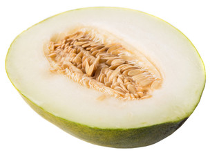 Heaven melon slice, Malaysian hybrid sweet melon fruit
