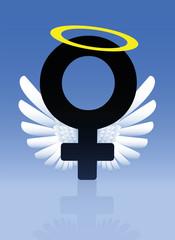 Angel Female Symbol Good Girl