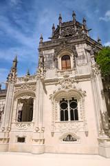 Fotomurales - Building in park of Quinta da Regaleira palace, Sintra, Portugal