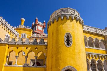 Fotomurales - Pena National Palace in Sintra (Palacio Nacional da Pena), Portu
