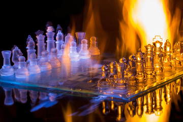 Chess fire and ice