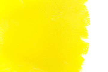 yellow paint brush strokes