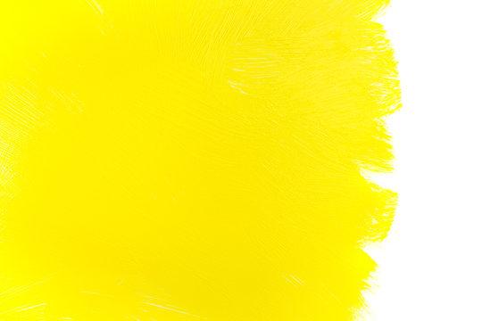 yellow paint brush strokes
